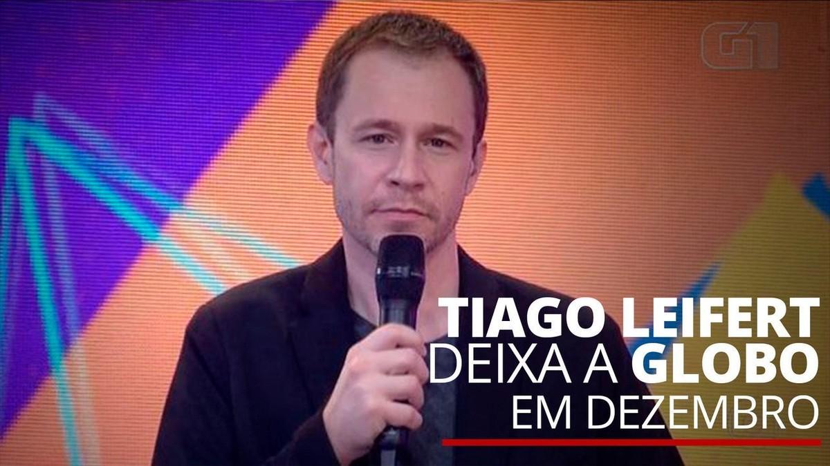 Famosos enviam mensagens para Tiago Leifert após anúncio de despedida da Globo   Pop & Arte