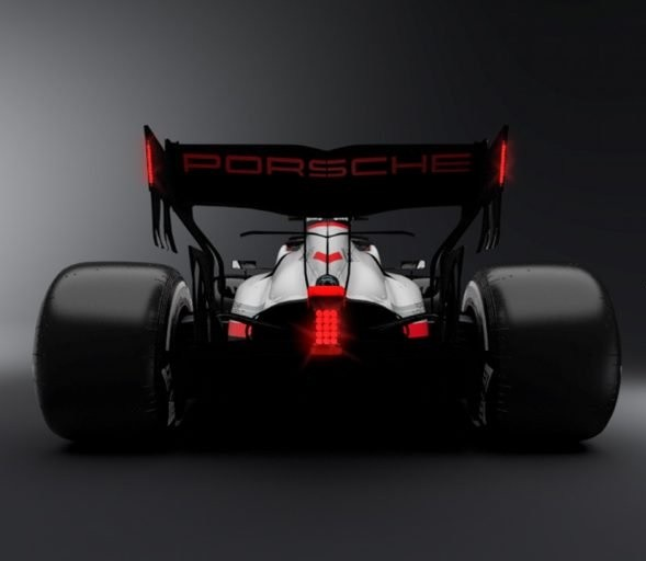 Porsche Fórmula 1 (Foto: Alessandro Melone Designs)