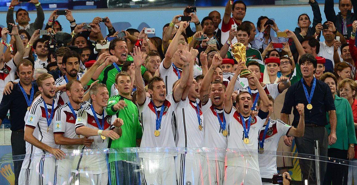 Alemanha celebra o título de 2014 (Foto: Wikimedia Commons)