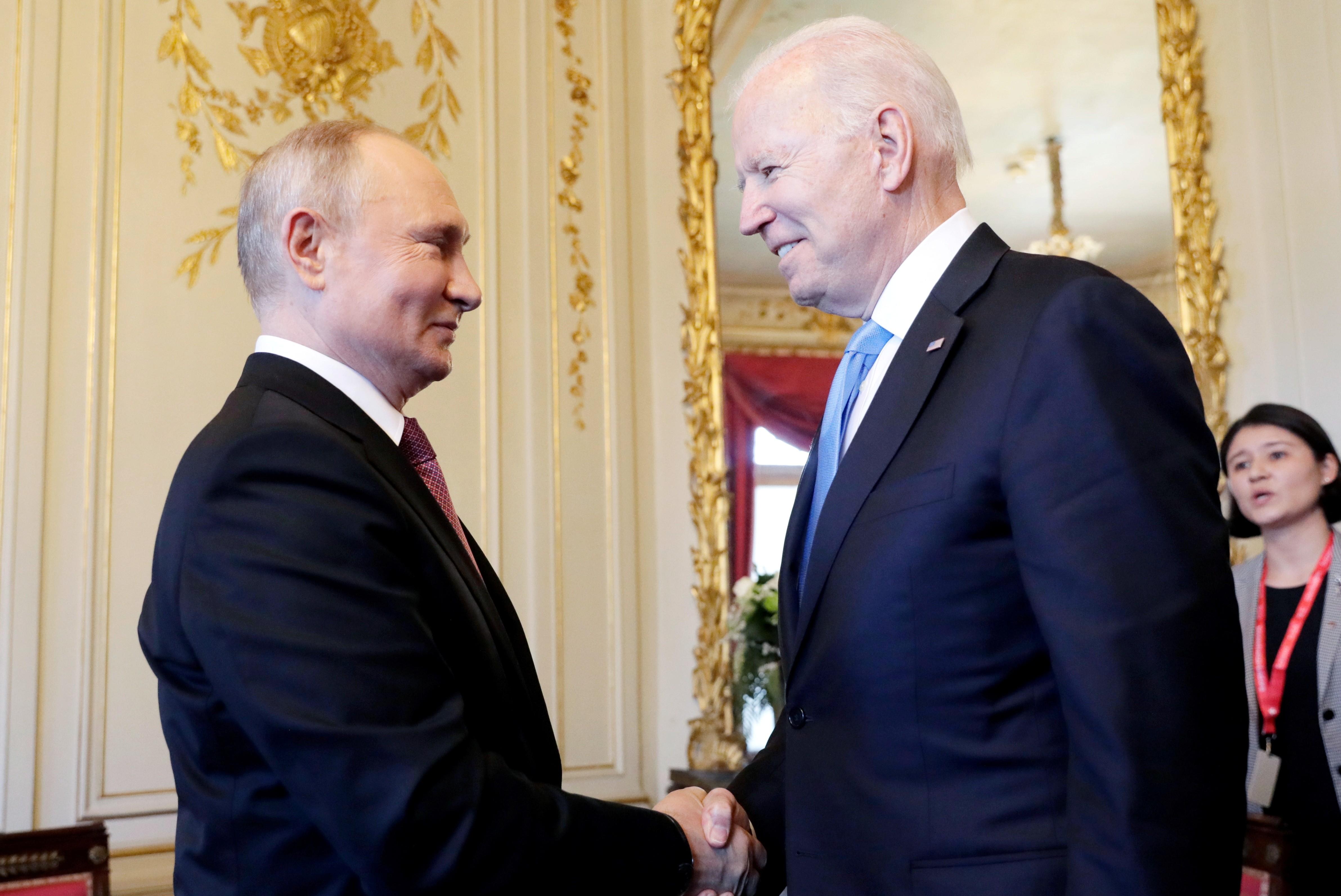Biden e Putin se encontram pela 1ª vez em Genebra sem expectativa de ações concretas