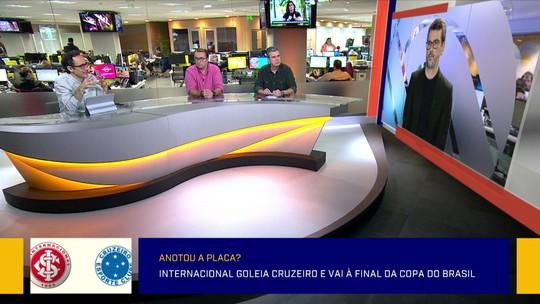 """Marcelo Barreto vê a vitória do Internacional como """"incontestável"""" diante do Cruzeiro pela Copa do Brasil"""