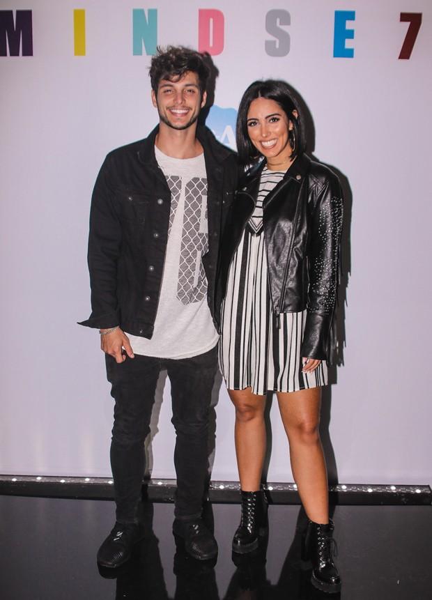 Bruno Guedes e Jade Seba (Foto: Thiago Duran/AgNews)