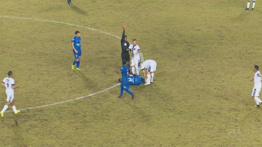 """Volante nega intenção de agredir rival: """"Jamais vou encerrar a carreira de nenhum jogador"""""""