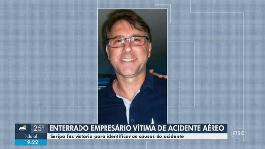 Equipe de investigação do Seripa vai a Concórdia para avaliar causas de queda de aeronave que matou piloto