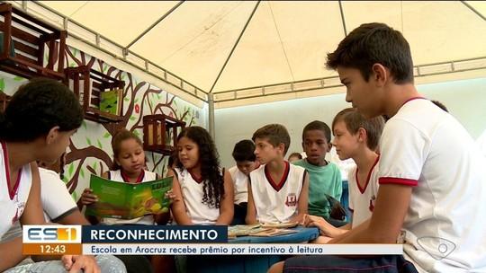 Escola de Aracruz, ES, recebe prêmio nacional por incentivo à leitura