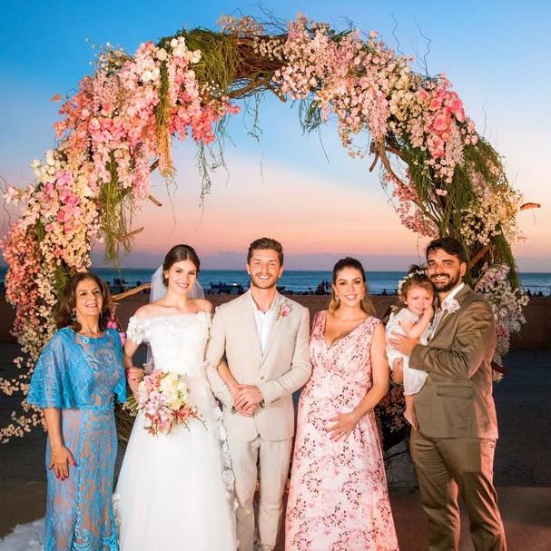 Casamentl Klebber Toledo e Camila Queiroz (Foto: Instagram/Reprodução)