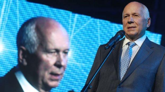 Sergey Chemezov, o presidente executivo da Rostec, é considerado um dos homens mais influentes da Rússia (Foto: Getty Images/BBC)