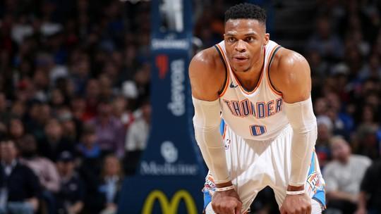 Westbrook supera Kobe Bryant em lista de assistências da NBA e brilha na vitória do Thunder