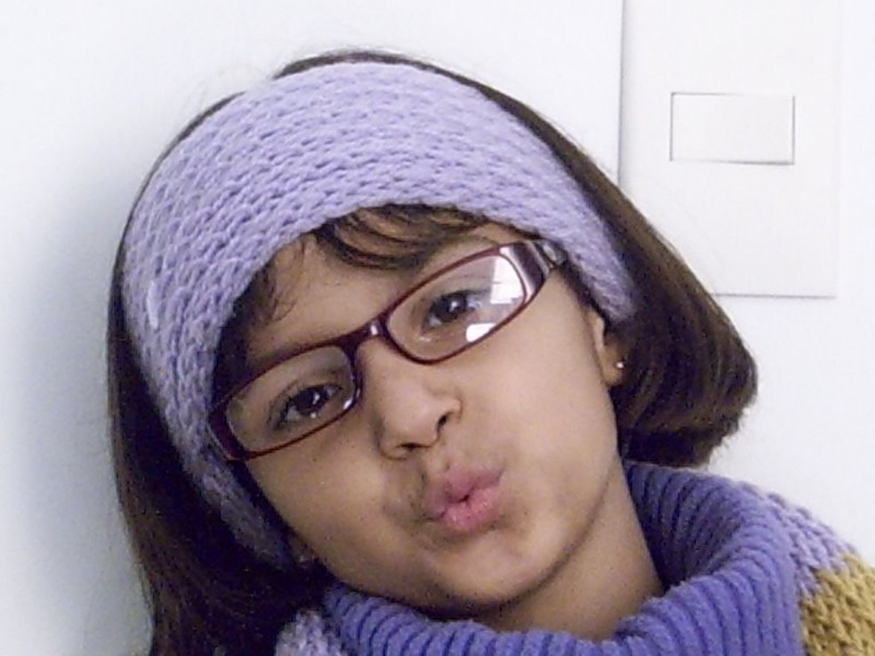 Corpo da menina Rachel Genofre foi encontrado em uma mala na Rodoferroviária de Curitiba — Foto: Reprodução/RPC