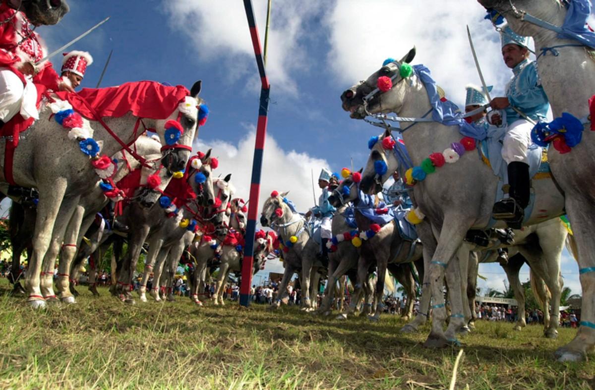Tradicional Cavalhada de Santo Amaro, em Campos, RJ, será realizada nesta segunda