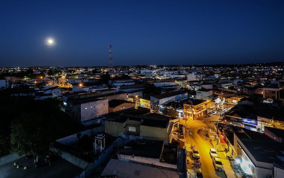 Imagem do alto da cidade de Santo Antônio de Jesus, na Bahia — Foto: Divulgação/Prefeitura de Santo Antônio de Jesus