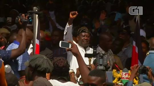 Líder da oposição do Quênia faz juramento e se autoproclama 'presidente do povo'