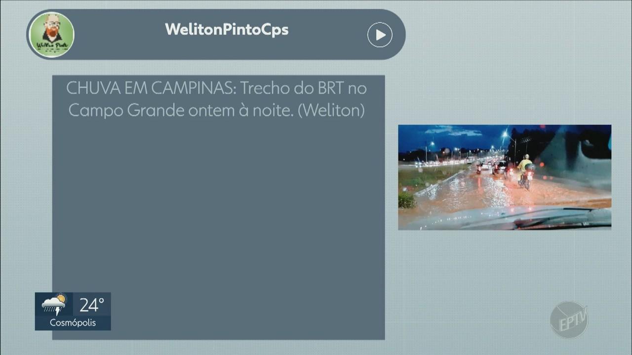 Telespectadores enviam mensagens para o EPTV1