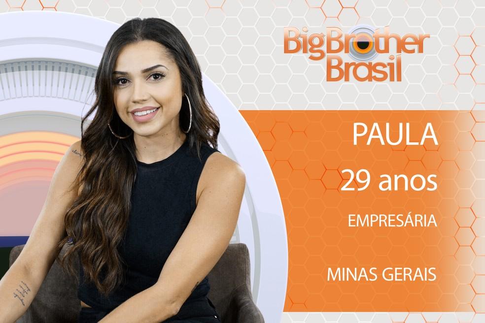 Paula é participante do BBB18 (Foto: TV Globo)