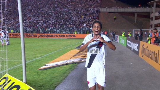 Em retorno ao palco do 1º gol da carreira, Ribamar define a vitória do Vasco sobre o Serra