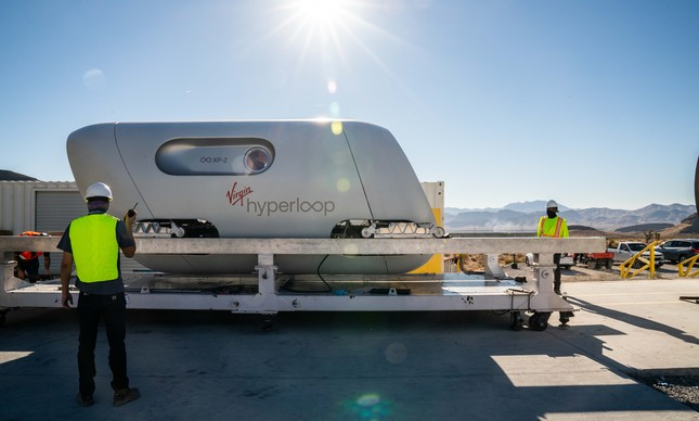 Virgin Hyperloop XP-2