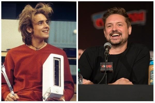 Will Friedle em cena de 'Boy Meets World' nos anos 1990, e em foto recente na Comic Con de Nova York (2018) (Foto: Divulgação / Getty Images)