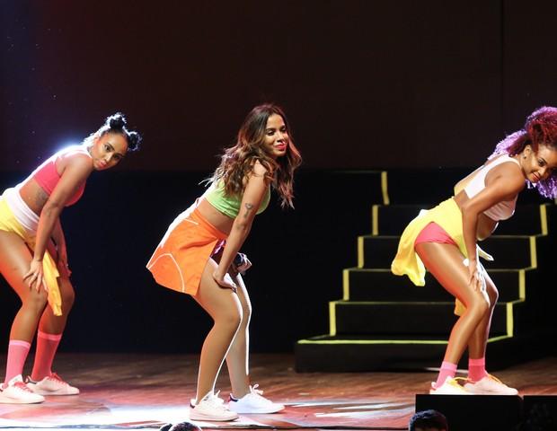 """Anitta durante o """"Show das Poderosinhas"""" (Foto: Manuela Scarpa/Brazil News)"""