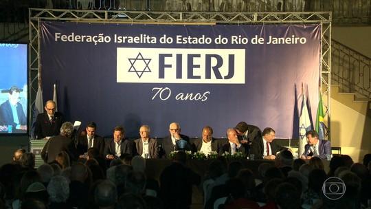 Federação Israelita do RJ comemora 70 anos de fundação