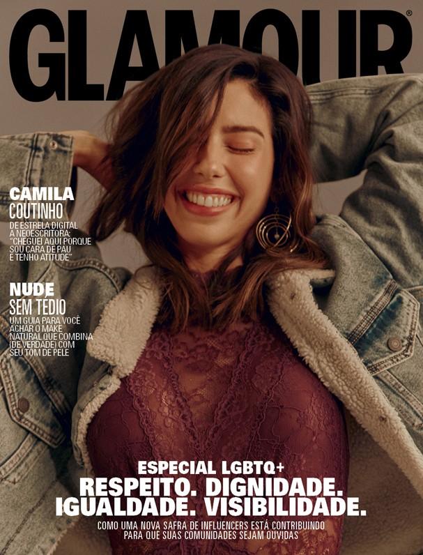 Camila Coutinho na Glamour de maio (Foto: Mar + Vin)