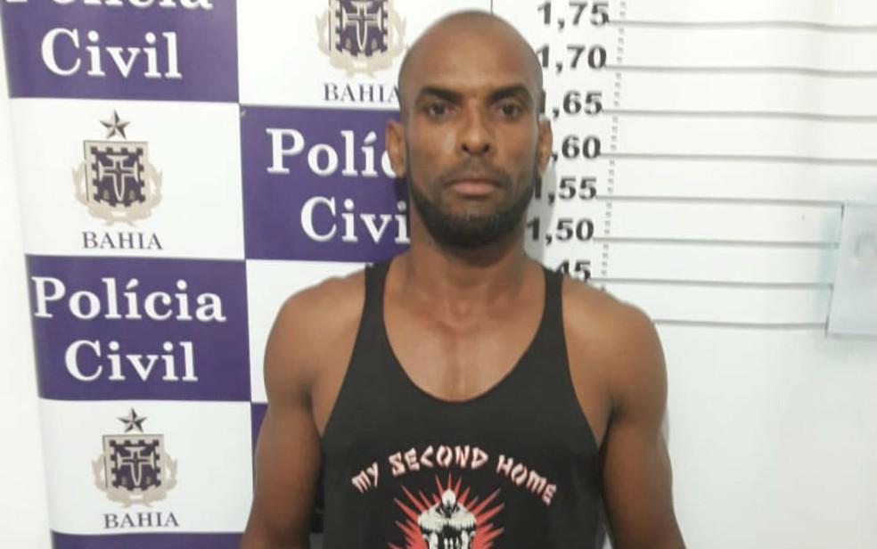 Ernesto Sabino dos Santos disse à polícia que perdeu dinheiro em rio, mas delegado contesta versão (Foto: Divulgação/Polícia Civil)