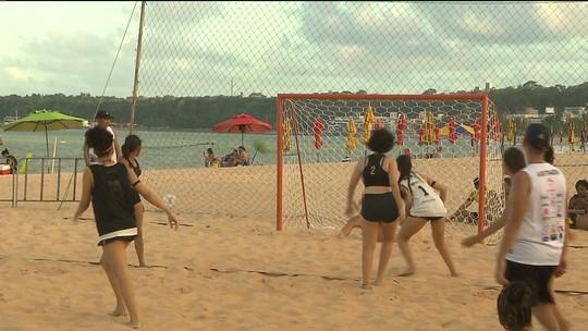 Taça Kika de Handebol de Areia reúne 56 times de todo o Brasil em João Pessoa