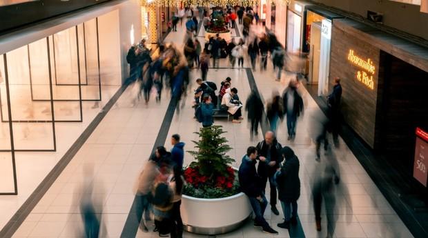 Shopping; varejo; lojas (Foto: Pexels)