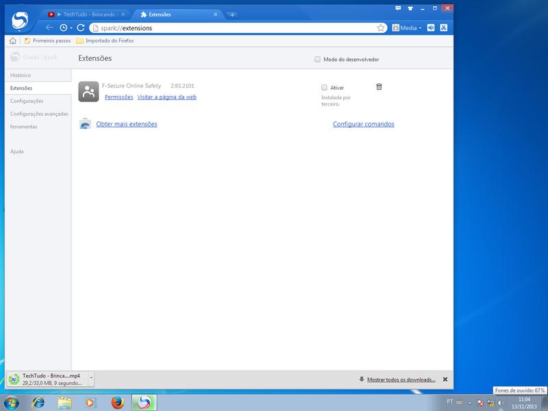 Baidu Spark Browser | Download | TechTudo