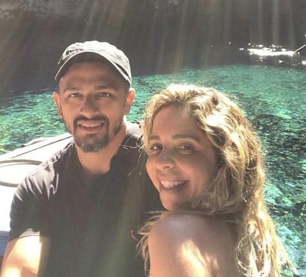 Mônica e o marido, Marcelo (Foto: Reprodução/ Instagram)