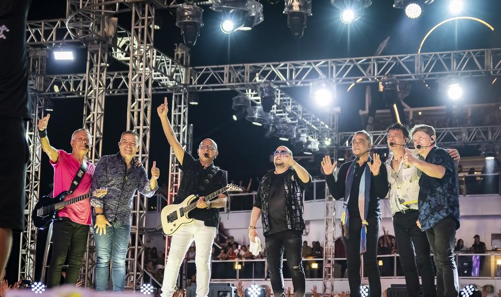 Músicos do Roupa Nova — Foto: Giu Pera/Divulgação