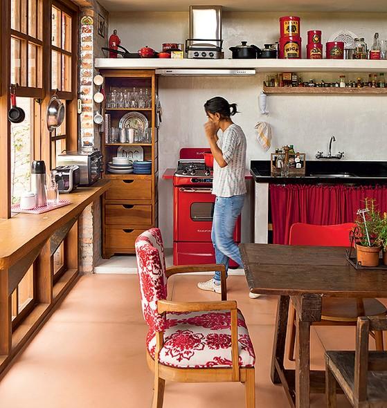 Famosos Cozinha sem armário - Casa e Jardim | Galeria de fotos UK84