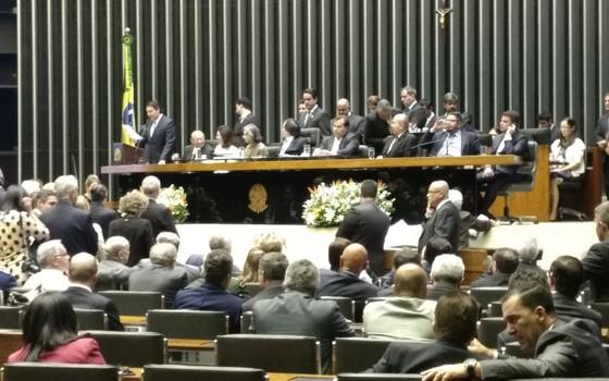 Apenas 65 deputados registram presença na volta do recesso (Foto: Divulgação)