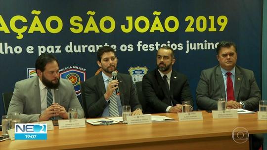 Segurança no São João conta com menos homens nas ruas e mesmo investimento de 2018