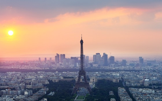 Torre Eiffel, em Paris, França (Foto: Mike Hewitt/Getty Images)