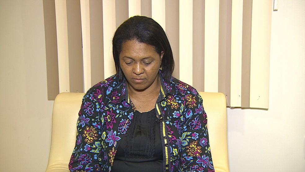Esposa diz que marido ficou nove dias parado em Vilhena (Foto: Rede Globo/Reprodução)