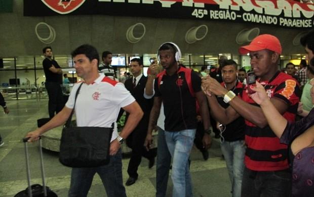 Em Belém, Flamengo é recepcionado com festa para estreia na Copa do Brasil