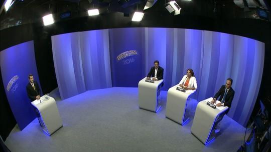 Candidatos à Prefeitura de João Pessoa debatem na TV Cabo Branco