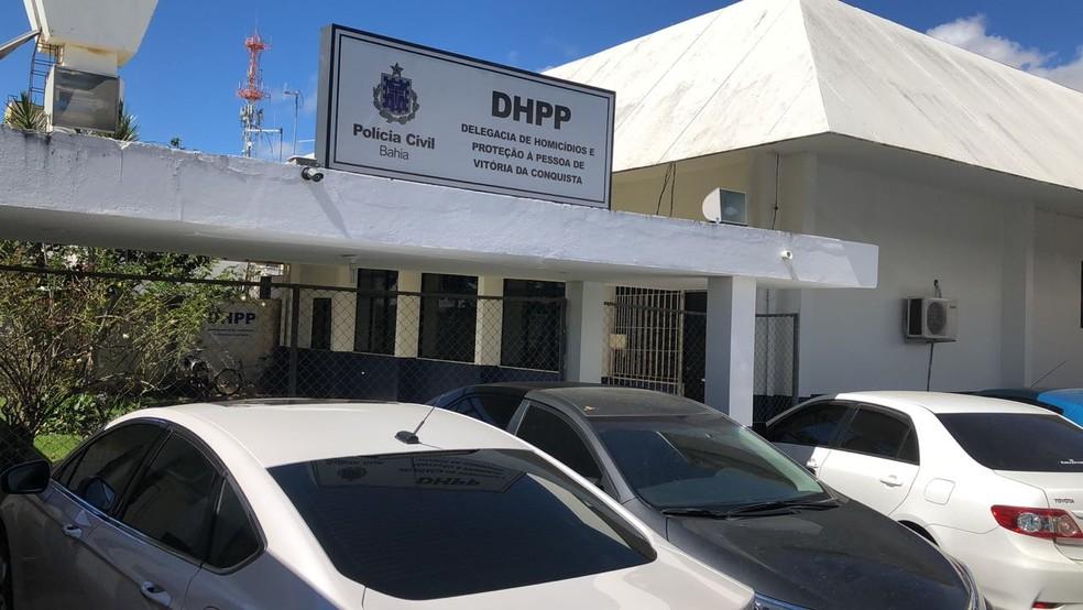 Delegacia de Homicídios e Proteção à Pessoa de Vitória da Conquista, no sudoeste da Bahia — Foto: Divulgação/Polícia Civil