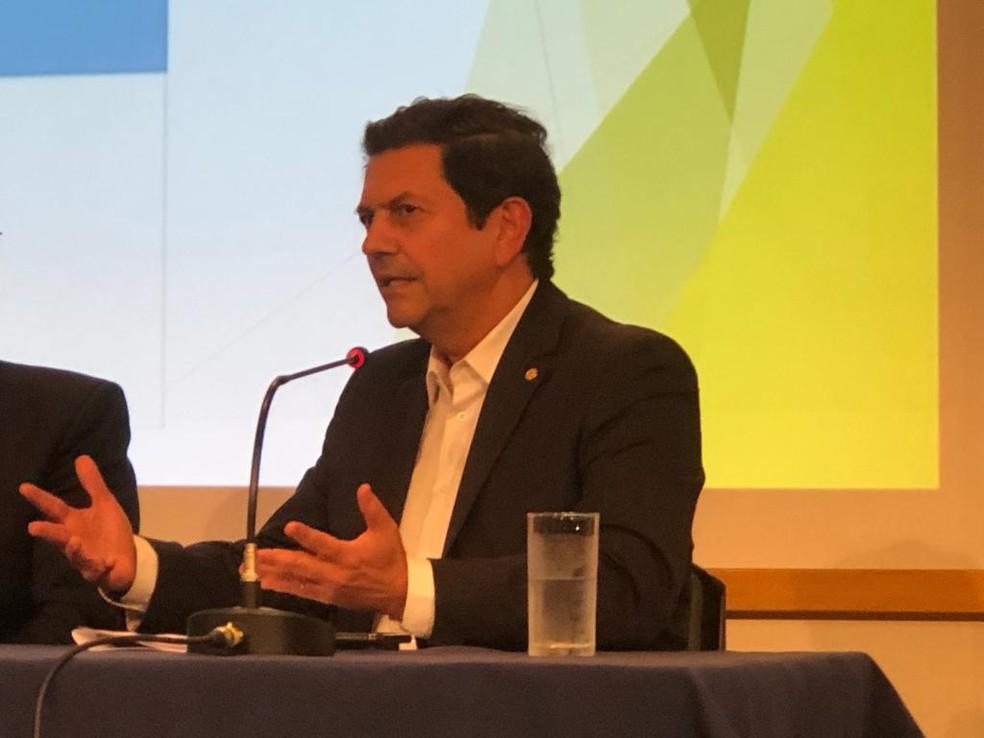 Otávio Leite é anunciado como secretário de Turismo no RJ — Foto: Carlos Brito/G1