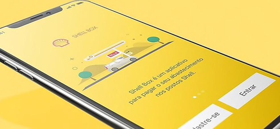 e6e64d0689ba4 ... Aprenda a usar o app Shell Box para abastecer com desconto — Foto:  Divulgação/