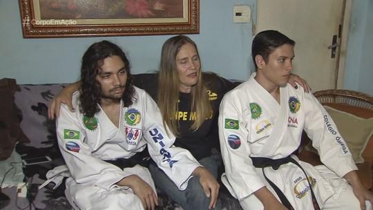 Irmãos caratecas de Guarujá são destaques internacionais em Artes Marciais