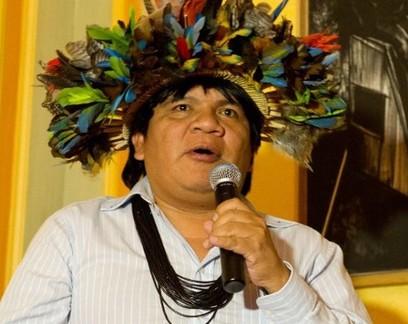 Almir Narayamoga Suruí, líder do povo Suruí