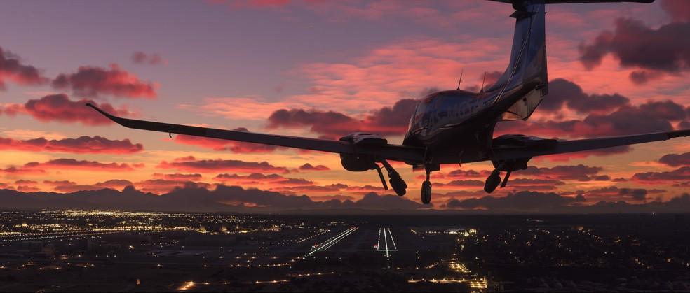 Microsoft Flight Simulator 2020 conta com um número impressionante de aeroportos — Foto: Divulgação/Microsoft