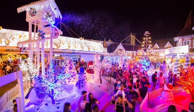 Magia de Natal começa neste sábado em Blumenau; confira a programação