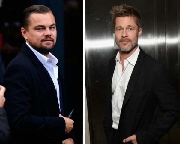 Os atores Leonardo DiCaprio e Brad Pitt (Foto: Getty Images)