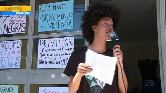 PF investiga pichações racistas em Universidade Federal de Santa Maria