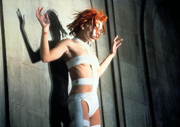 Milla Jovovich em O Quinto Elemento (1997) (Foto: Alamy)