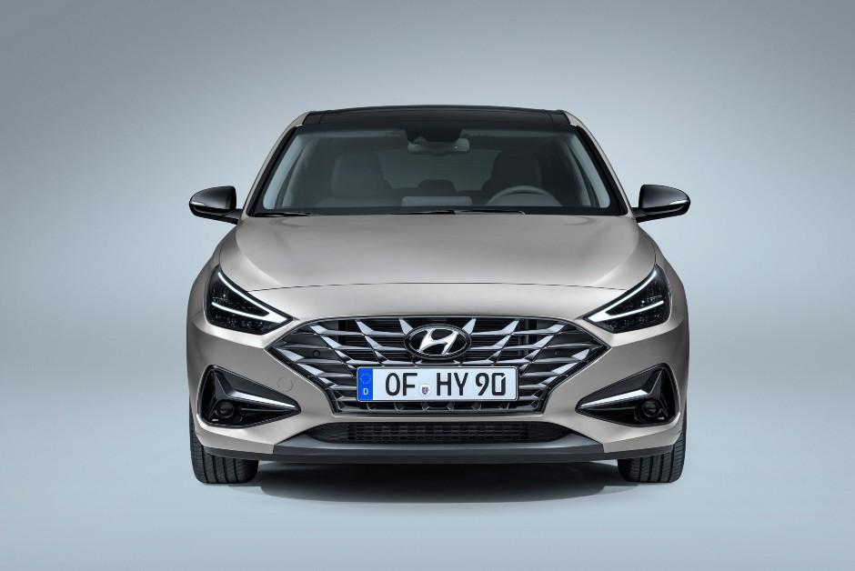 Novo Hyundai i30 - Frente (Foto: Divulgação/Hyundai)