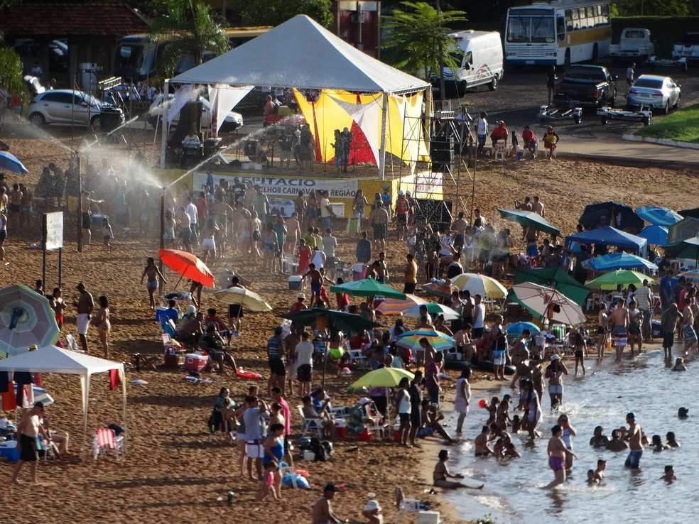 Parque O Figueiral também terá programação especial de Carnaval — Foto: Assessoria de Imprensa Prefeitura de Presidente Epitácio