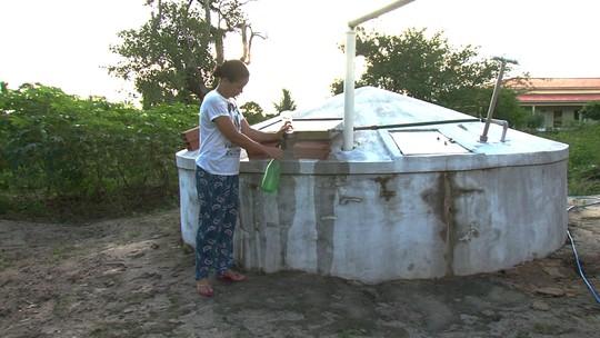 Água de cisterna é purificada através de radiação solar